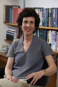 פרופ' דפנה לוינסון-זמיר. צילום באדיבות האוניברסיטה העברית