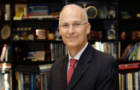 """אלי גלמן נבחר ליו""""ר הוועד המנהל הבא של אוניברסיטת תל אביב"""
