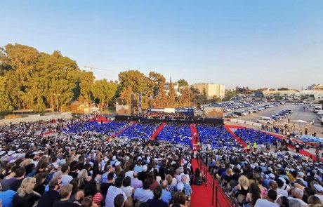 כ-2,000 בוגרות ובוגרים קיבלו תארים בטקס חגיגי במרכז הבינתחומי הרצליה