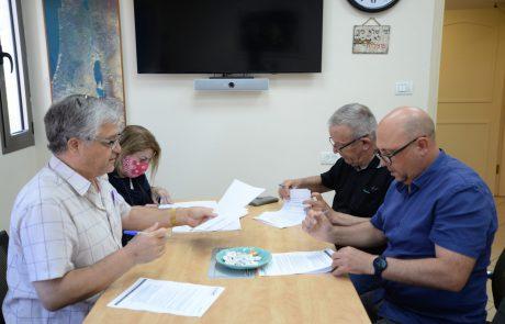 נחתם הסכם קיבוצי ראשון עם חברי הסגל האקדמי הזוטר במכללה האקדמית צפת