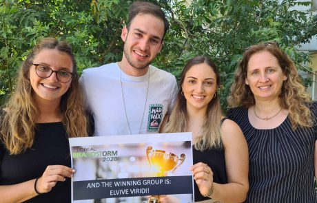 סטודנטים ישראלים ייצגו את ישראל בתחרות בינלאומית ויחשפו שמפו מהפכני בנושא קיימות