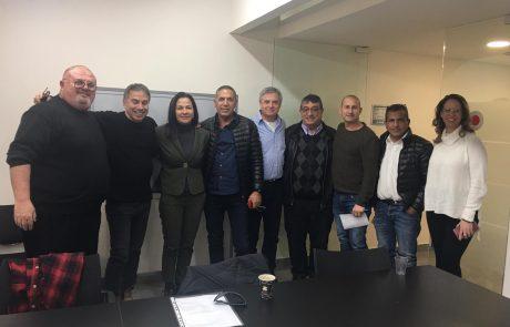 שיתוף פעולה בין ארגון הקבלנים והבונים בבאר שבע והנגב למכללת ספיר