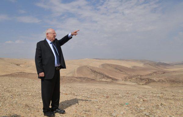 """נשיא המדינה בעמותת איילים: """"כשאמר בן גוריון שבנגב יבחן העם בישראל, לא יכול היה לדמיין הצלחה יותר מזו שאתם מקיימים פה בגופכם"""""""