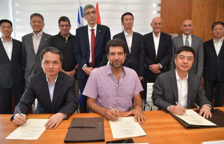 האוני' העברית חתמה על הסכם להקמת מרכז חדשנות לחקר המוח בסין