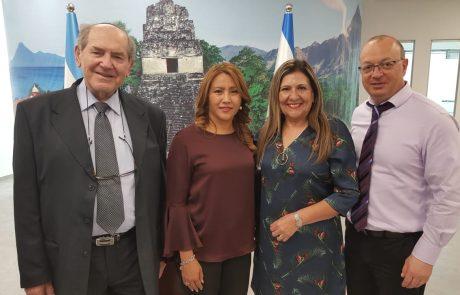 שיתוף פעולה ראשון מסוגו בין האקדמית גורדון למשרד החינוך של גוואטמלה