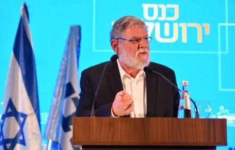 """""""בעשור האחרון נרשם זינוק של 20% במספר הלומדים בישיבות גבוהות"""": הרב אבי גיסר בכנס ירושלים"""