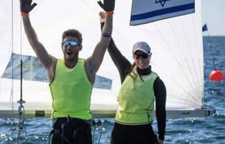 מדליית זהב באליפות העולם במפרשית 470 לגיל כהן, סטודנטית באוניברסיטת חיפה